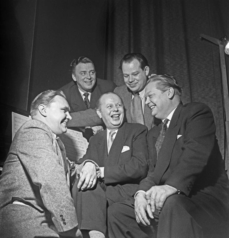 Kipparikvartetti, Teijo Joutsela oikealla.