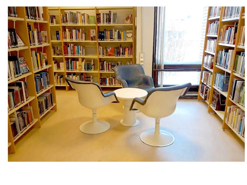 Ylivieskan kirjaston pika-asiointi päättyy ja istuinpaikat palautetaan käyttöön ensi maanantaina.