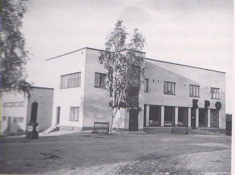 KPO valmistui 1934. Sen suunnitteli arkkitehti Erkki Huttunen.
