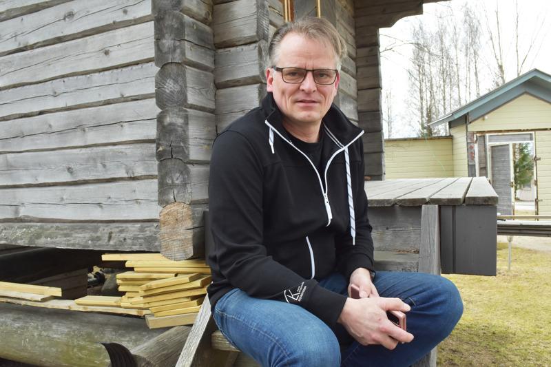 SagaTecin yrittäjä Mika Kangasniemi uskoo, että sparrauksesta on hyötyä liiketoiminnan kehittämiseen ja verkottumiseen.