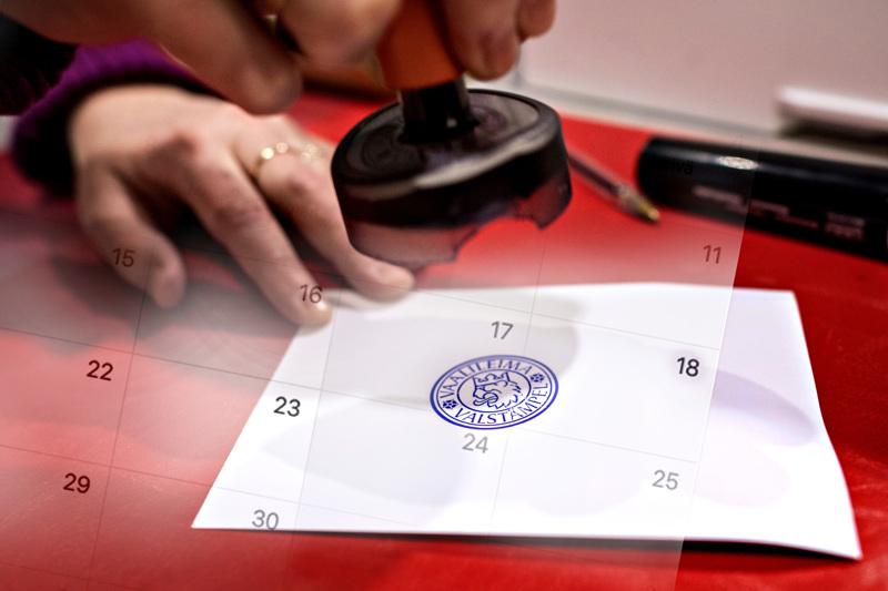 Kuntavaalien uusi vaalipäivä on sunnuntaina 13. kesäkuuta.