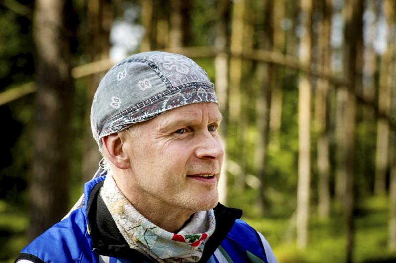 Kilpailun johtaja Timo Ronkainen on tyytyväinen Kärppäjahdin osallistujamäärään.