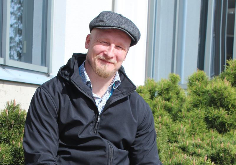 Juha Matilainen on aloittanut työssään huhtikuun alussa.