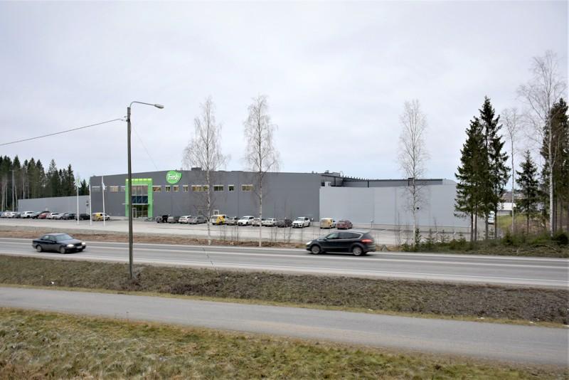 Fresh Servantin tehdas Edsevössä Pedersöressä on merkittävä työllistäjä Pietarsaaren alueella.