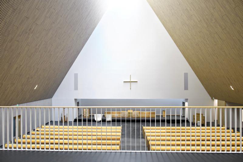 Ylivieskan kirkon rakennushankkeen kokonaiskustannukset ovat alittuvan lähes miljoonalla.