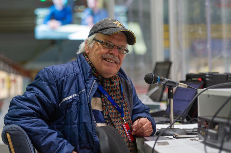Ossi Peltoniemi on toiminut kuuluttajana kaudesta 1975-76.