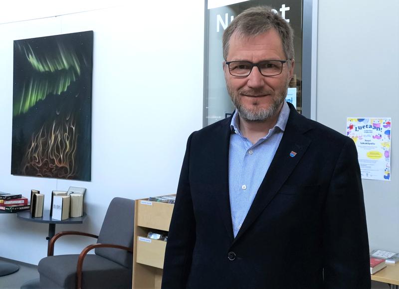 Kärsämäen kunnanjohtaja Esa Jussila.