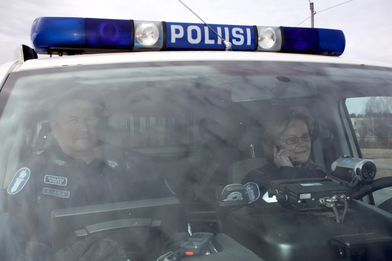 Poliisi tarkisti 24-tuntisen tehovalvontajakson aikana yli 1100 raskasta ajoneuvoa.