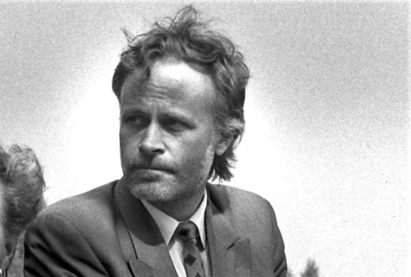 Mats Nyby toimi kansanedustajana vuosina 1983-1999. Kuva on 1990-luvun alusta.