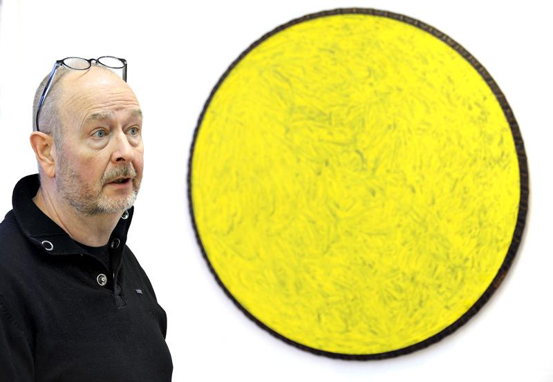 Jan Kenneth Weckman on opettanut Pohjoismaisessa taidekoulussa ja pitänyt myös näyttelyn Galleria VISUssa.