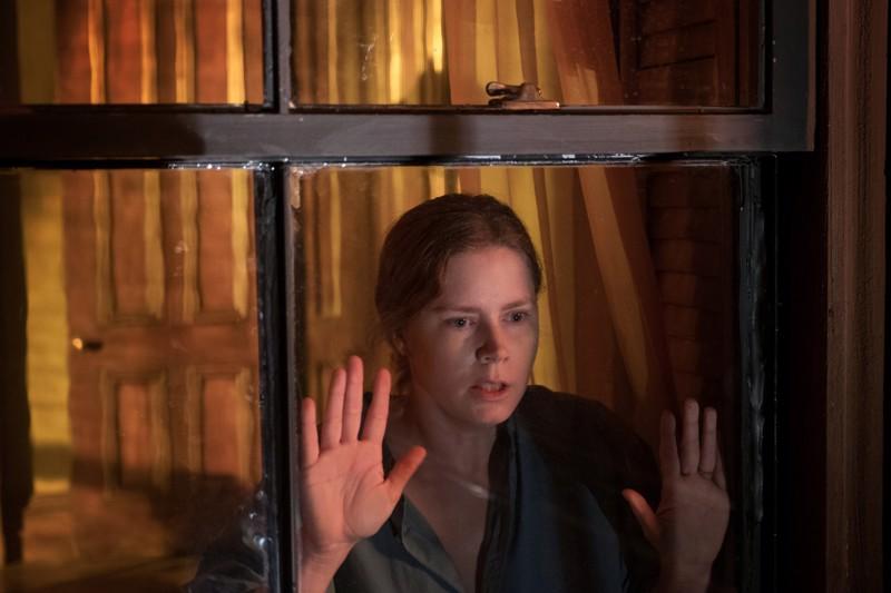 Amy Adams uskoo nähneensä naapurissa rikoksen.
