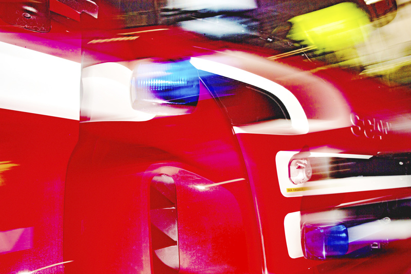 Poliisi tutkii autokatoksen syttymissyytä Oulaisissa.