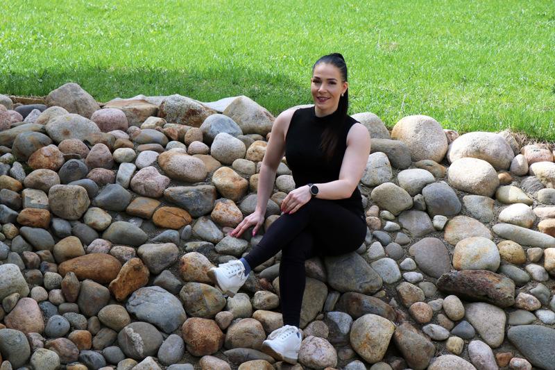 Karoliina Skantsi on treenannut body fitnessiä tavoitteellisesti viisi kertaa viikossa jo viiden vuoden ajan.