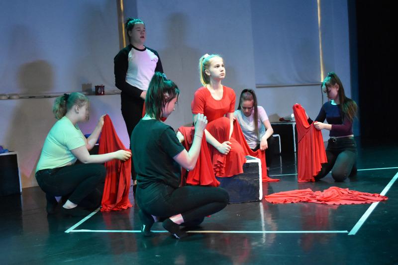 Tyttömetsän rooleissa nähdään Tilleri Tallerin seitsemän nuorta tanssijaa ja näyttelijää: Miina Karvonen, Ilona Kinnunen, Julia Laakso, Jenny Luomajoki, Aino Paananen, Pinja Pyhälä ja Ronja Toivola.