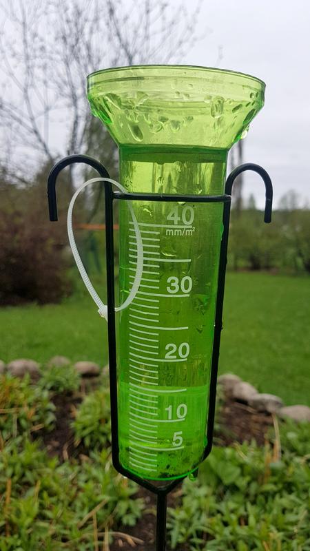 Vettä satoi 50 mm vuorokaudessa Toholammilla.