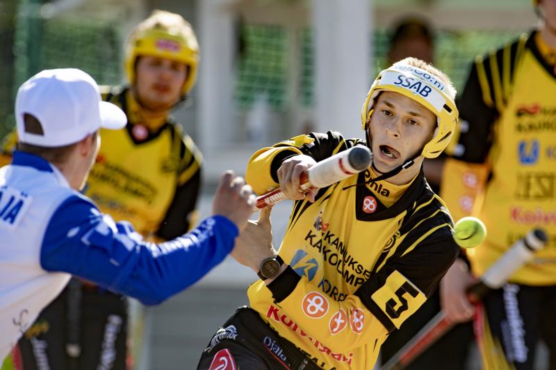 Konsta Launonen löi Uralla kaksi juoksua Simossa.