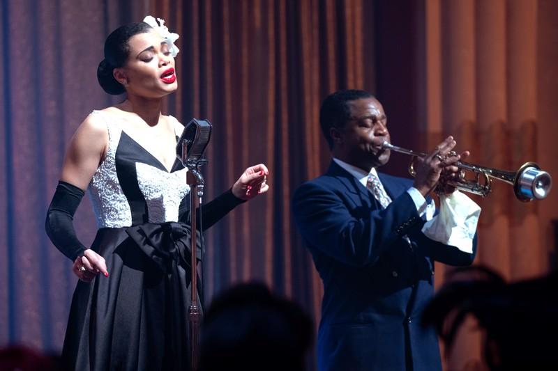 Lady Sings the Blues. Andra Day laulaa itse kaikki Billie Holidayn laulut elämäkertaelokuvassa.