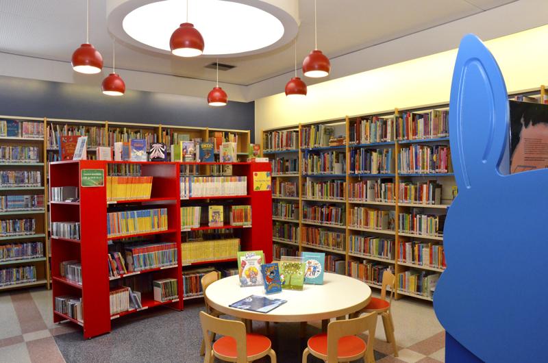 Kirjoittaja luettelee kaupungin tulevien vuosien invetsointikohteita. Yksi niistä on kirjasto.