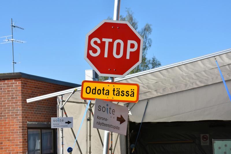 Koronavirustartunnat ovat kääntyneet nopeasti laskuun Keski-Pohjanmaalla.