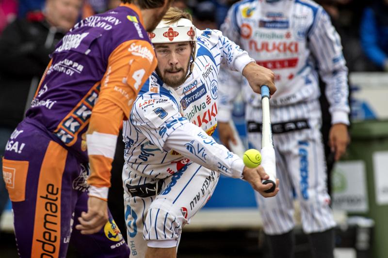 Mikko Kanala toi Viven sunnuntain pelissä neljä juoksua ja nousi 500 tuodun juoksun listalle. Arkistokuva vuodelta 2017.