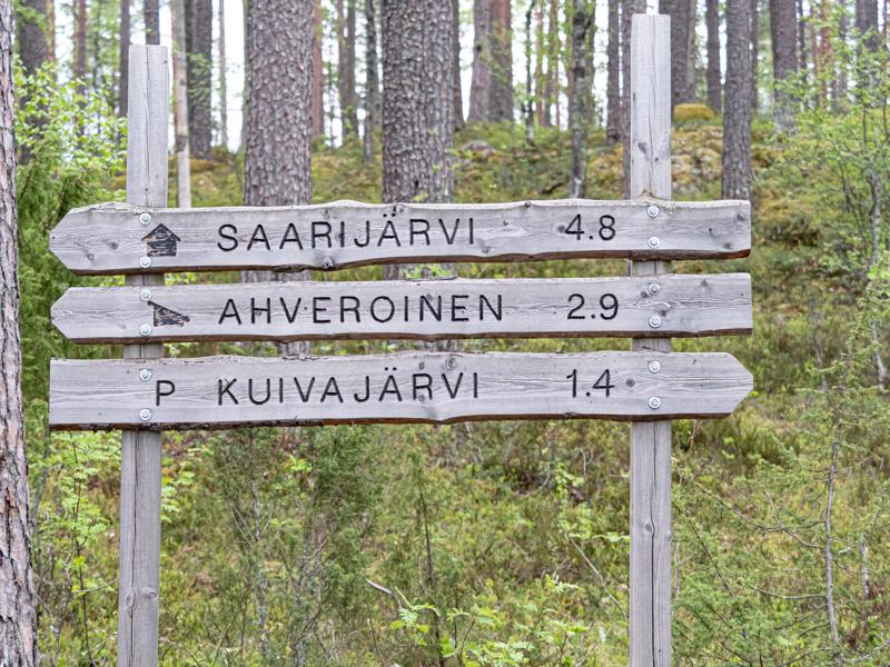 Etelä-Sydänmaan reitistöltä löytyy kohteita moneen makuun.