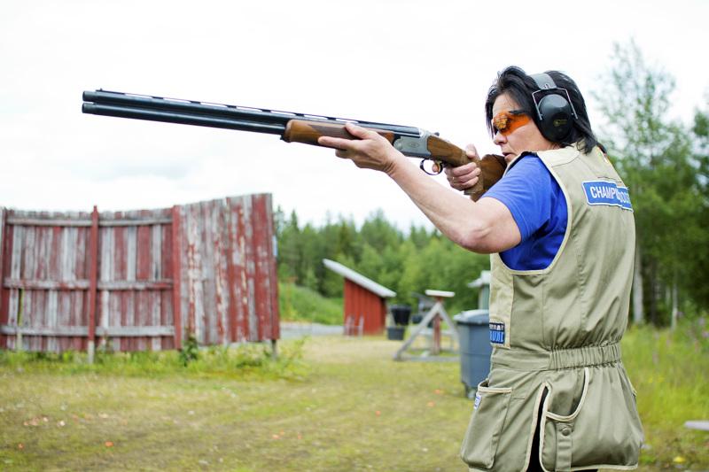 Anne Tölli ampui viikonlopun SM-kisoissa kahdesti hopealle.