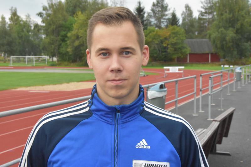 Jarmo Marttila paransi rutkasti ennätystään sunnuntaina.