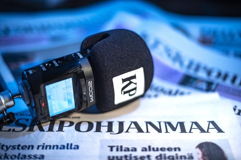 Ääniuutiset on kuultavissa Keskipohjanmaan näköislehdessä sekä verkkosivuilla.