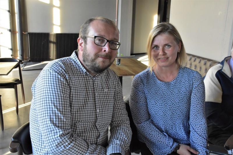 Rkp:n uudet ehdokkaat Antti Koivukangas ja Heidi Matinlassi menestyivät hyvin.