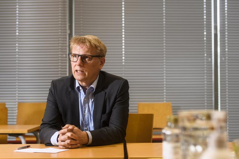 Kimmo Tiilikainen aloitti Geologian tutkimuskeskuksen pääjohtajana kesäkuun alussa.
