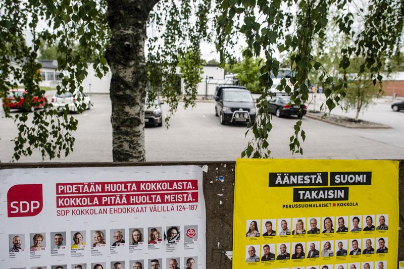 SDP ja Perussuomalaiset saivat hyvin kannatusta Koivuhaasta.