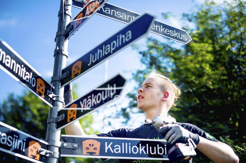 Vielä tänä kesänä ei tarvitse kiinnitellä tienviittoja festivaalialueen portille, kuten Juho Laajala neljä vuotta sittenteki, mutta musiikki soi jälleen.