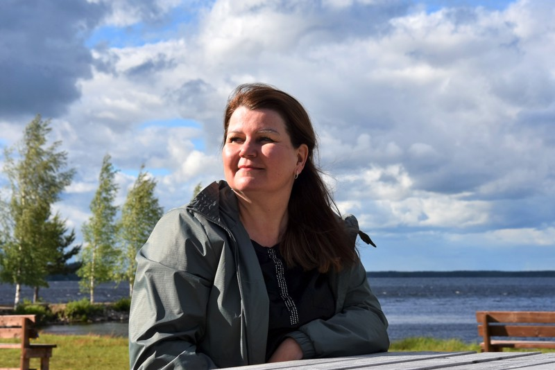 Katse tulevaan. Marja Tiala pitää Lestijärven vahvuuksina erityisesti ihmisiä ja luontoa.