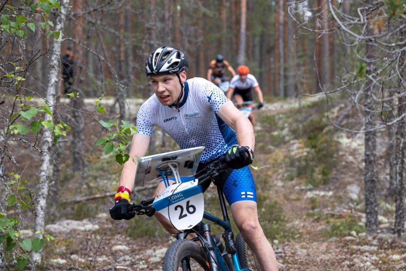 Andre Haga voitti pyöräsuunnistuksen MM-kultaa.