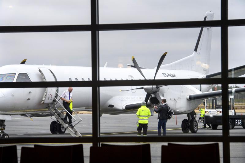 Nyxair on lentänyt Kokkola-Pietarsaari kentältä reilun kuukauden verran.
