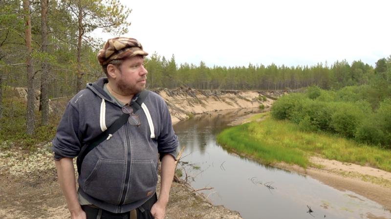 Kalajoen Rahjaan kansallispuiston perustamista on suositellut Suomen kansallispuistoista oppaita kirjoittanut Pepe Forsberg. Tässä on Siiponjoen maisemissa.
