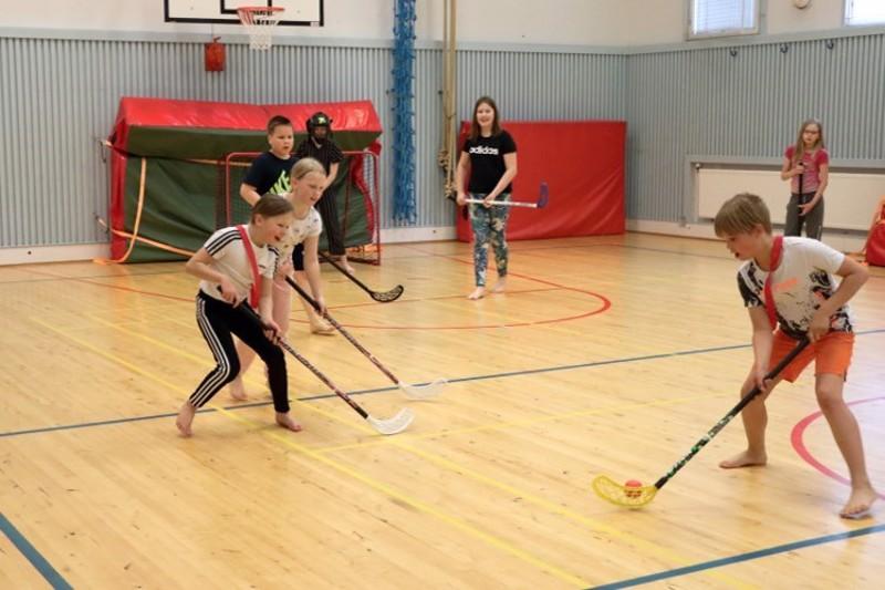 Vatjusjärven koulukiinteistöihin kuuluu muun muassa talkoovoimin rakennettu monitoimitalo, jossa on liikunta- ja juhlasali.