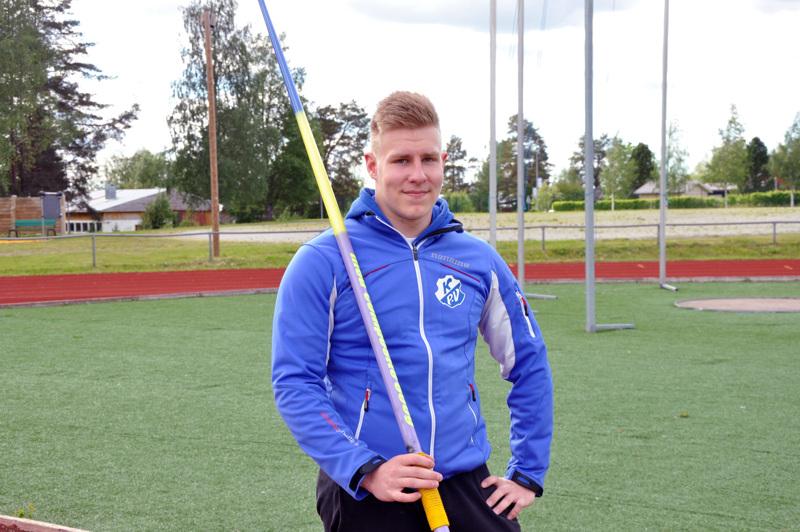 Ennätystään kahteen kertaan tällä kaudella parantanut Janne Läspä on tyytyväinen kehitykseensä.