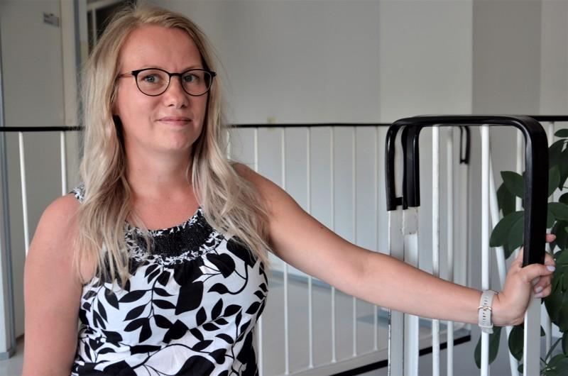 Ylivieskalainen Johanna Alahäivälä vetää POP-sotehankkeessa kotisairaalapilottia.