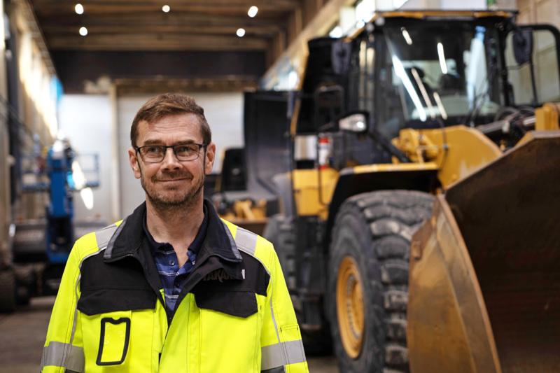 Juha Takanen on Teollisuuskylässä toimivan Takanen MR Oy:n toimitusjohtaja.