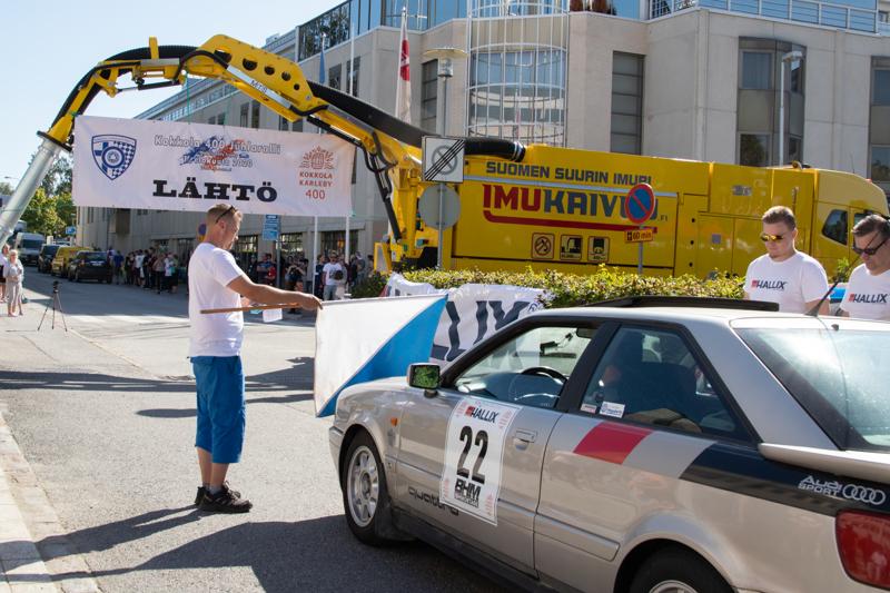 Kokkolan Urheiluautoilijat ry järjesti myös viime vuonna käydyn Kokkola 400 Juhlarallin.