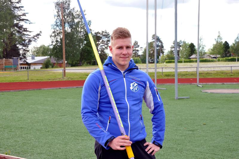 Janne Läspä edustaa Suomea 19-vuotiaiden EM-kilpailuissa.