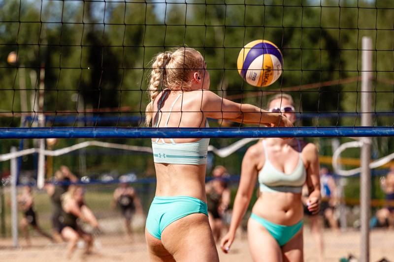 Kesän kolmas beach volleyn SM-osakilpailu pelataan Kalajoen hiekoilla.