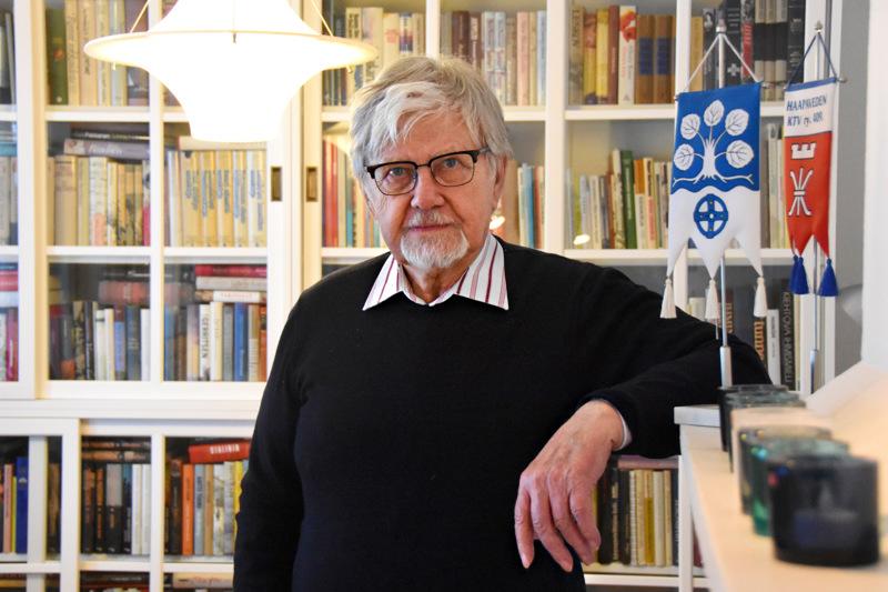Ville Saukko on toiminut Haapavedellä kunnallisissa luottamustehtävissä yli 40 vuoden ajan.