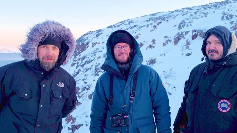 Kuvausolosuhteet Venäjällä olivat arktiset, kun Hytti nro 6:tta kuvattiin.