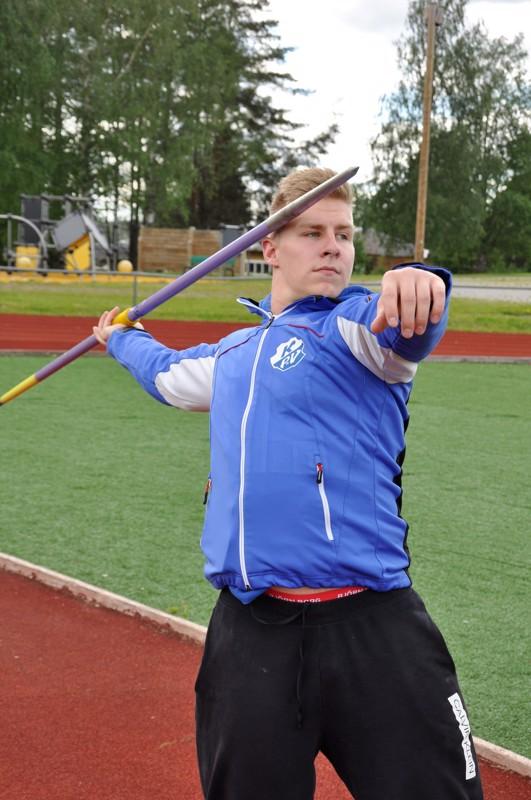 Kaustisen Pohjan-Veikkojen Janne Läspä sijoittui uransa ensimmäisessä arvokilpailussa kuudenneksi.