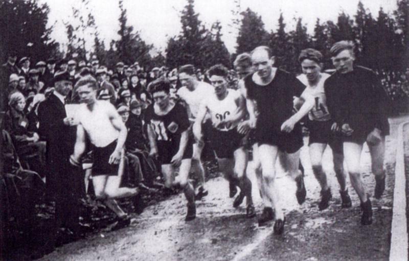 Paavo Jokivirta ja Paavo Nurmi Ähtävällä 1934.