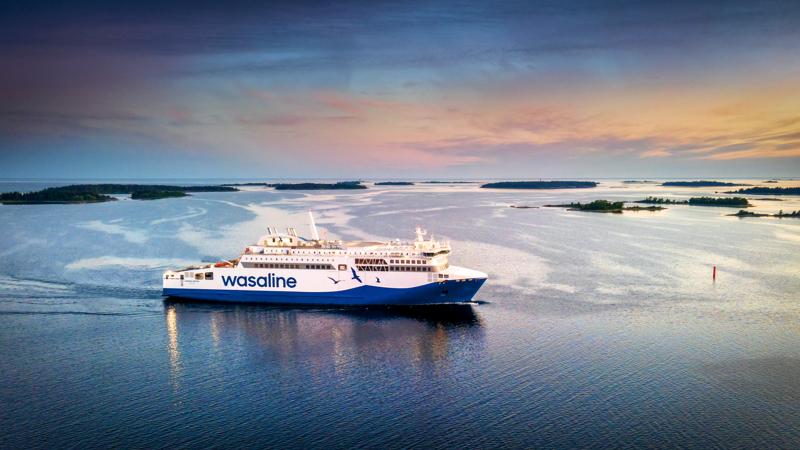 Rauma Marine Constructionsin rakentama autolautta Aurora Botnia luovutetaan Wasalinelle elokuun lopussa.