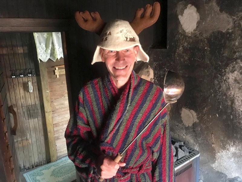 Vuoden 2020 Positiivisin kokkolalainen oli Tero Hannila.