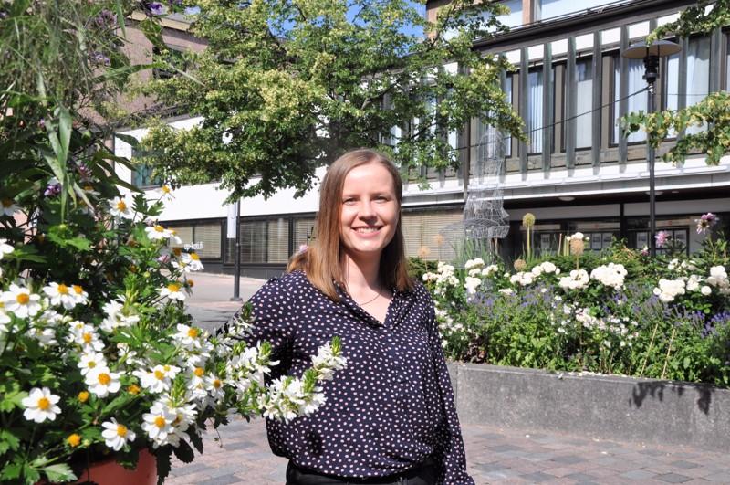 Miia Pesonen on viihtynyt Kokkolassa jo seitsemän vuotta.